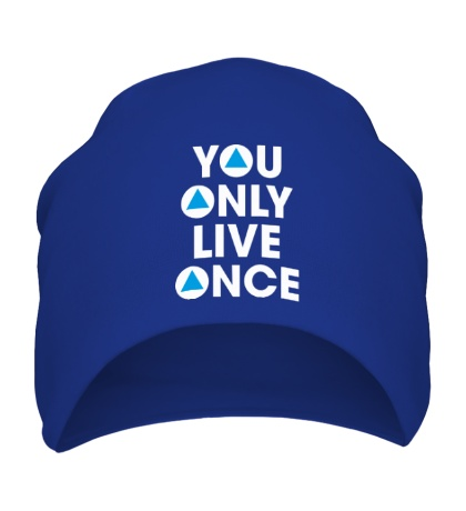 Шапка You Only Live Once