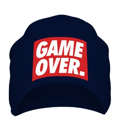 Шапка Obey Game Over