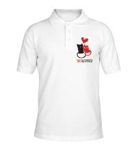 Рубашка поло In love