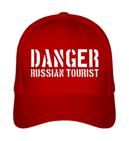 Бейсболка Danger Russian Tourist