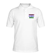 Рубашка поло Trance music