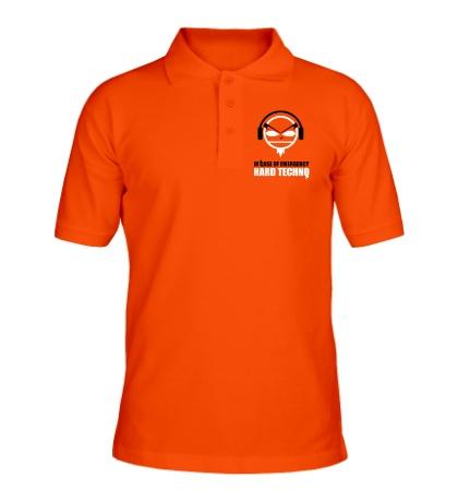Рубашка поло Hard Techno