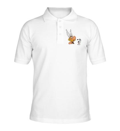 Рубашка поло Астерикс и песик