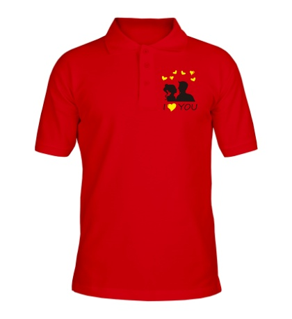 Рубашка поло I heart you