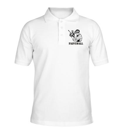 Рубашка поло Paintball
