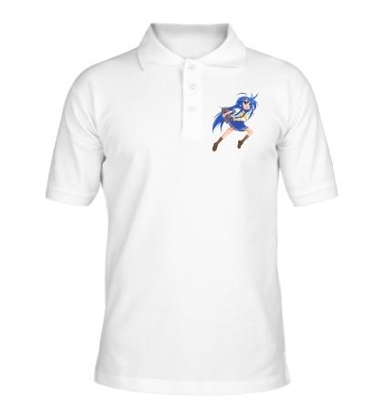 Рубашка поло Аниме школьница