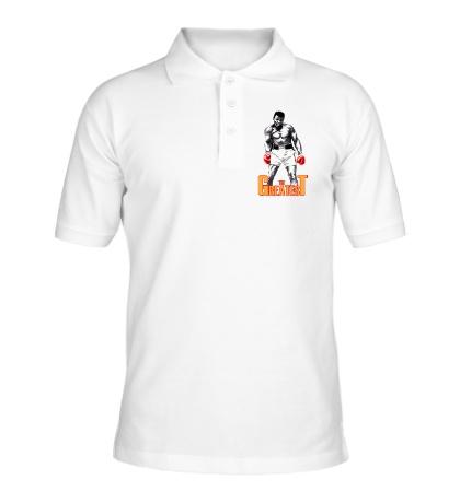 Рубашка поло The greatest Ali