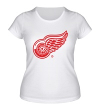 Женская футболка Detroit Red Wings
