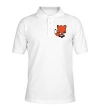 Рубашка поло Маленький лисенок