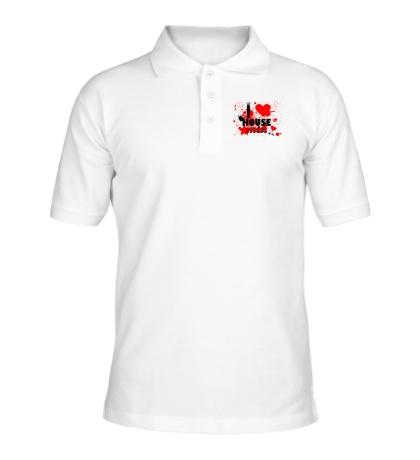 Рубашка поло House Music Love