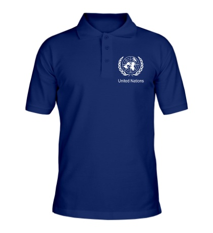 Рубашка поло Эмблема ООН