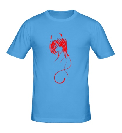 Мужская футболка Devil Girl