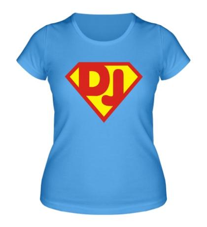 Женская футболка Super DJ