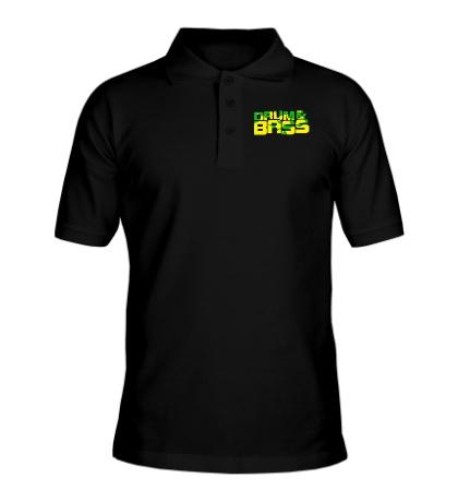Рубашка поло Drum & Bass