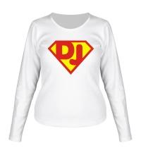 Женский лонгслив Super DJ