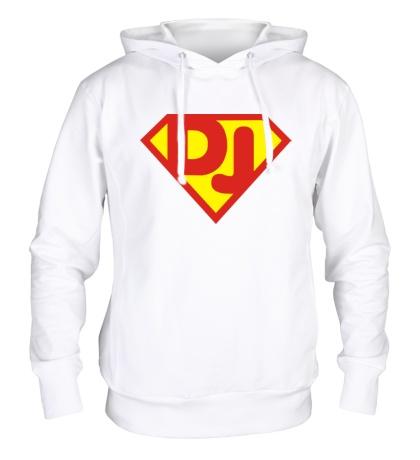 Толстовка с капюшоном Super DJ