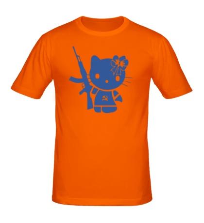 Мужская футболка «Kitty Soldier»