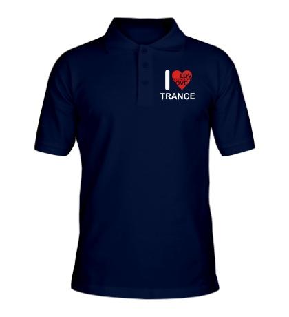 Рубашка поло Trance we Love