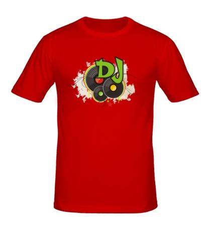 Мужская футболка DJ Пластинки