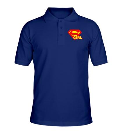 Рубашка поло «Supergirl»