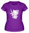 Женская футболка «Kitty Soldier» - Фото 1