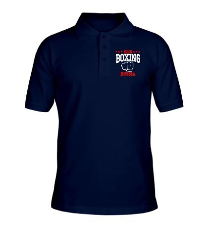 Рубашка поло Kickboxing Russia Team
