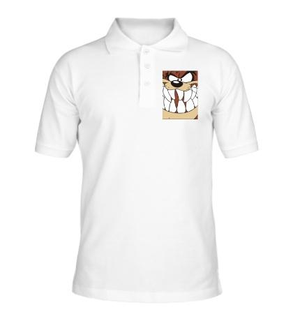 Рубашка поло Тасманский дьявол, постер