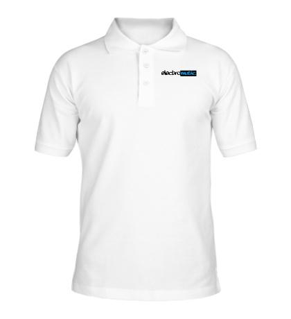 Рубашка поло Electro music