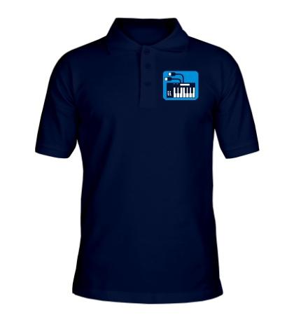 Рубашка поло Синтезатор