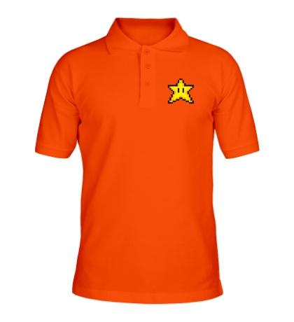 Рубашка поло Пиксельная звездочка