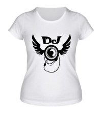 Женская футболка DJ Wings