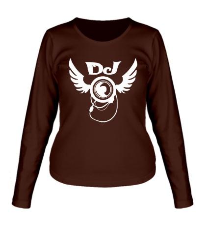 Женский лонгслив DJ Wings