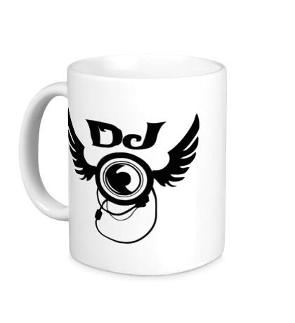 Керамическая кружка DJ Wings