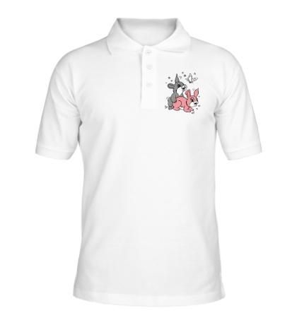 Рубашка поло Счастливые кролики