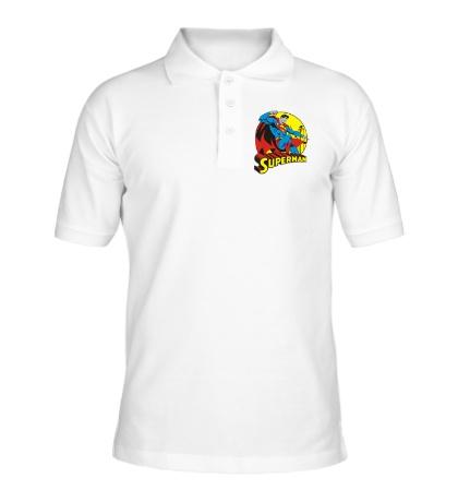 Рубашка поло Faster Superman