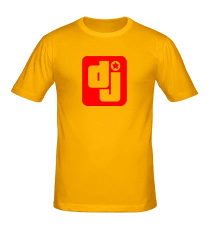 Мужская футболка Dj