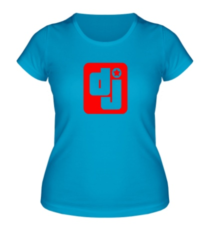 Женская футболка Dj