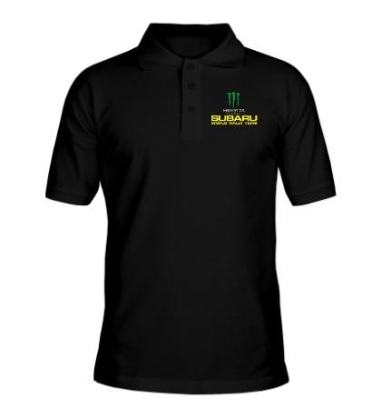 Рубашка поло Subaru Rally Team