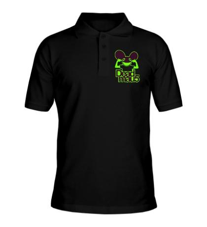 Рубашка поло Deadmau5 Glow