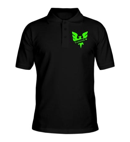 Рубашка поло Tecktonik Glow