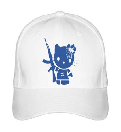 Бейсболка Kitty Soldier