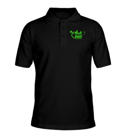 Рубашка поло Minimal Equalizer Glow