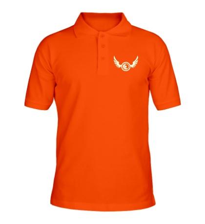 Рубашка поло Крылья