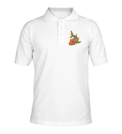 Рубашка поло Огненная акула
