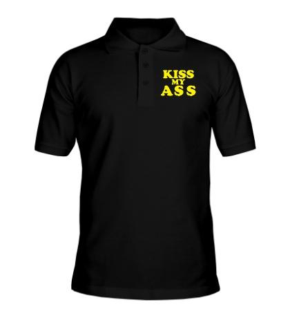 Рубашка поло Kiss my ass