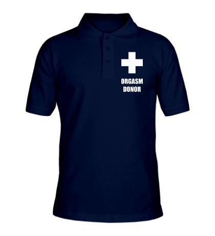 Рубашка поло Orgasm Donor