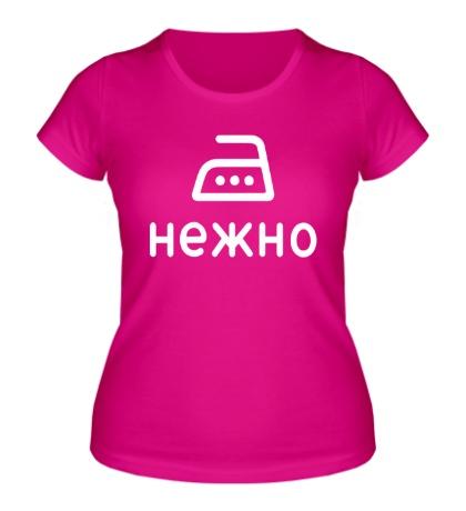 Женская футболка Нежно