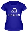 Женская футболка «Нежно» - Фото 1