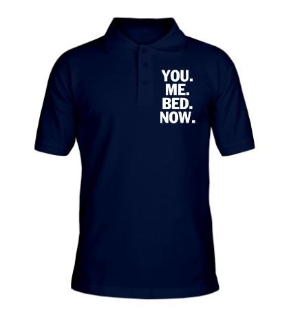 Рубашка поло You Me Bed Now