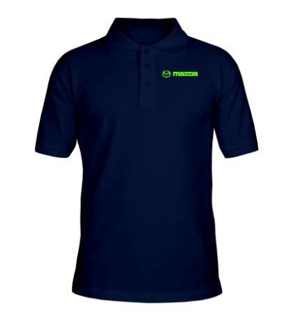 Рубашка поло Mazda Line Glow